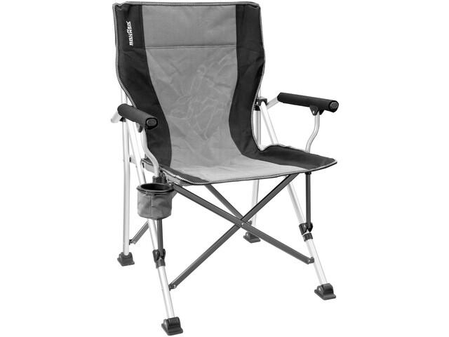 Brunner Raptor - Siège camping - Aluminium gris/noir